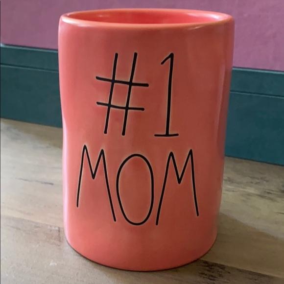 Rae Dunn Other - Rae Dunn Pink  #1 Mom Candle NWT